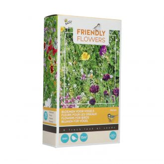 Friendly flowers - vogel mengsel 15m2