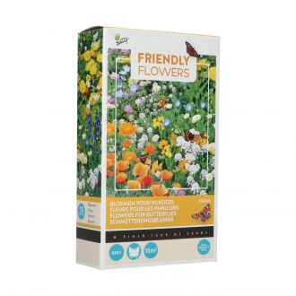Friendly flowers - schmetterlinge mischung 15m2