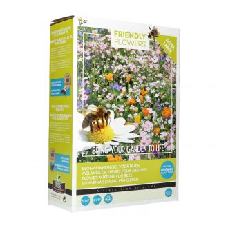 Friendly flowers xl - bijen mengsel 50m2