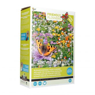 Friendly flowers xl - butterfly mixture 50m2