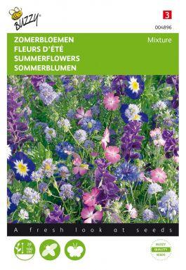 Fleurs d'été bleu mÉlange